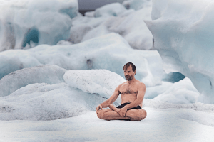 Wim Hof embracing discomfort