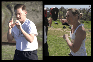Doug and Stephanie - the undying spirit of martial arts