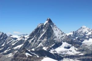 Matterhorn and Zermatt - a perfect place for meditation in martial arts