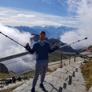 Sifu in Switzerland - choosing happy through meditation in martial arts
