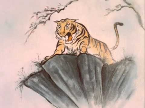 tiger on a cliff - perspective from martial arts