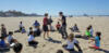 20170513 beach kung fu kids class teaching
