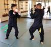 Test sparring