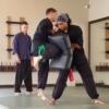 sifus combinations jumping knee kick