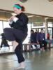 form knee kick