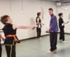 hitting targets nunchacku martial arts